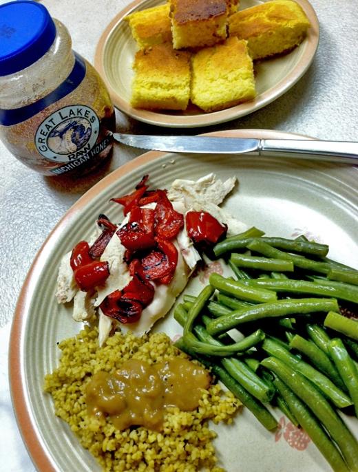chicken n green beans.blog