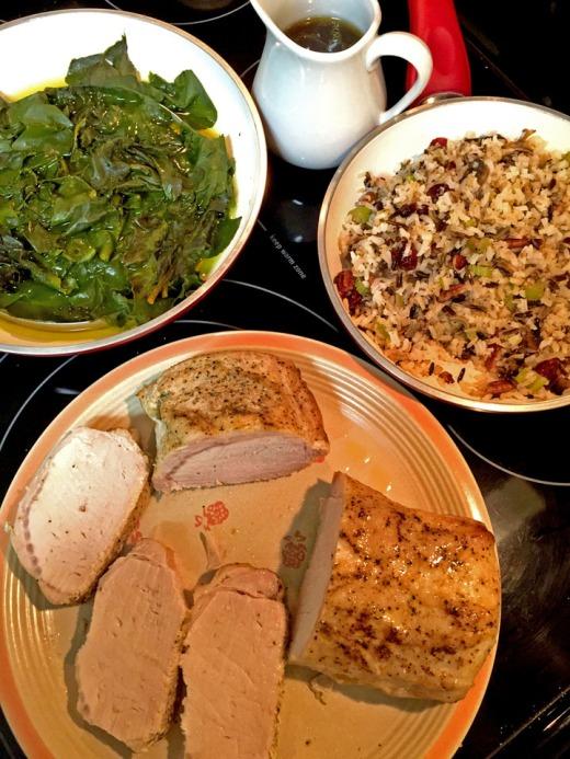 pork 'n' greens.blog